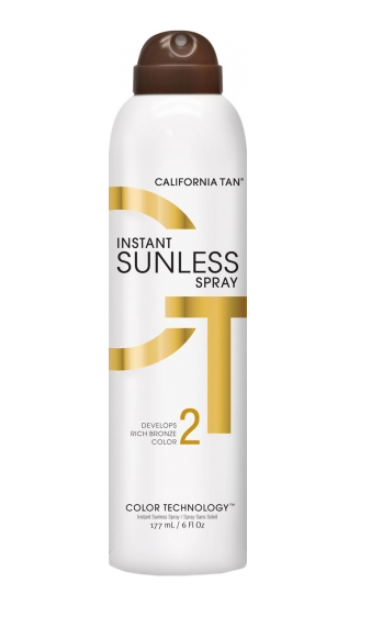 California Tan Sunless Instant Tanning Spray