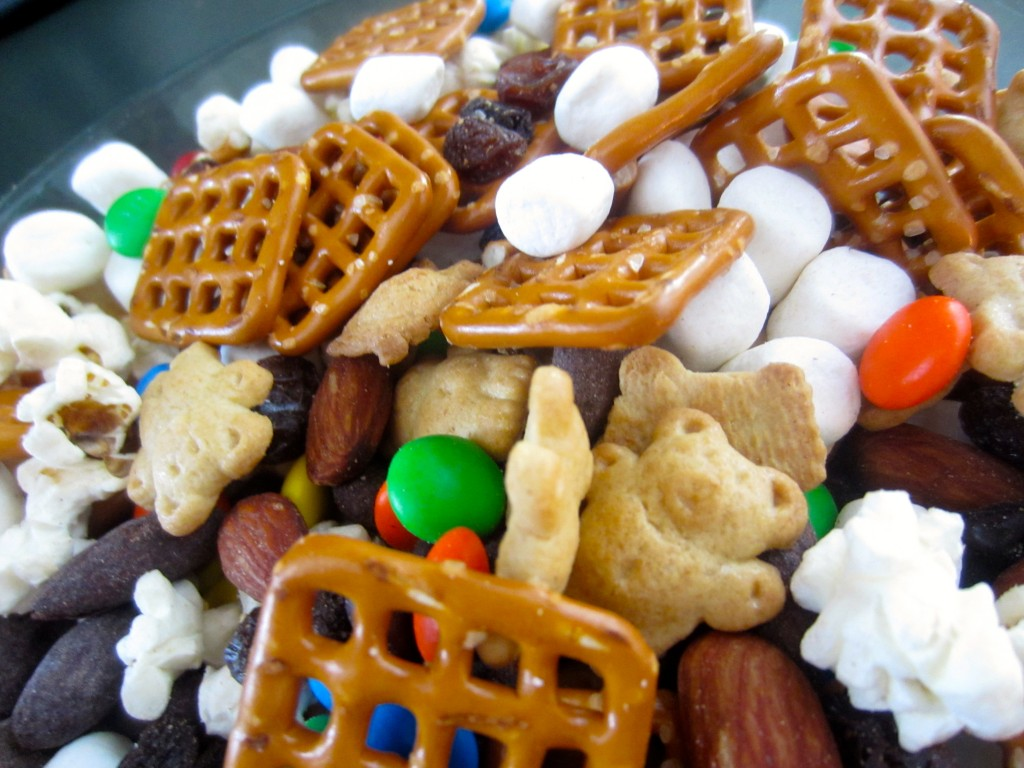 campfire party mix close up