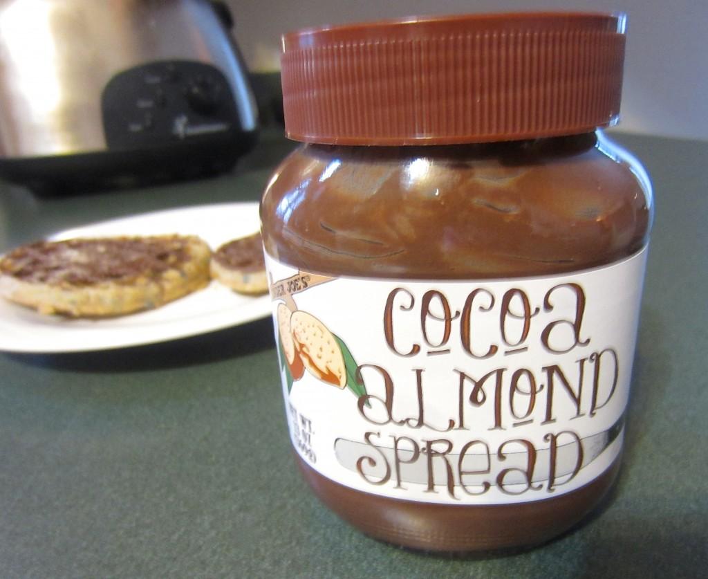 cocoa almond spread trader