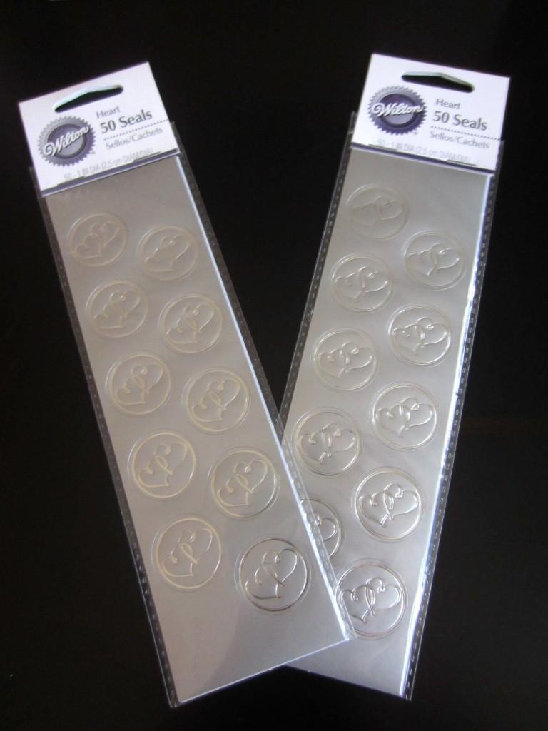 cute envelope seal stickers