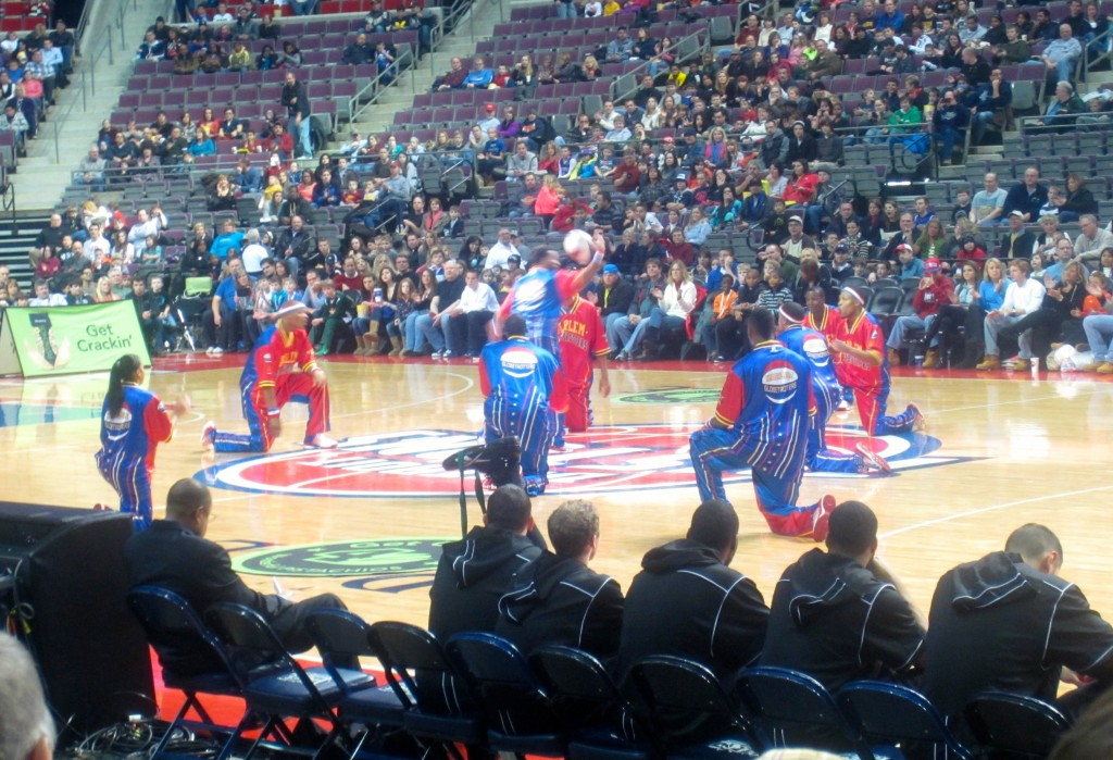 harlem globetrotters famous w