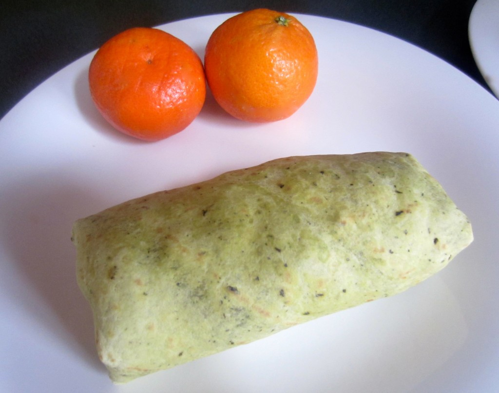 healthy egg white wrap