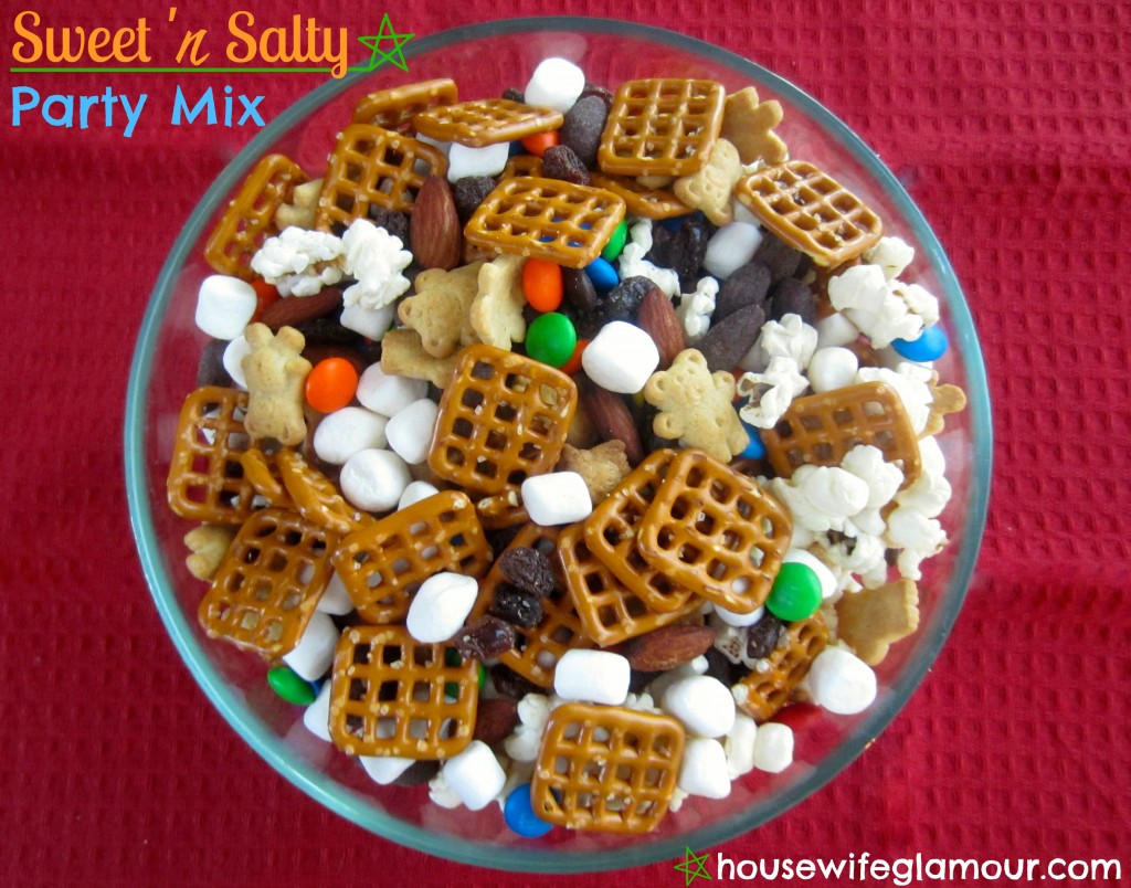 sweet 'n salty party mix cover