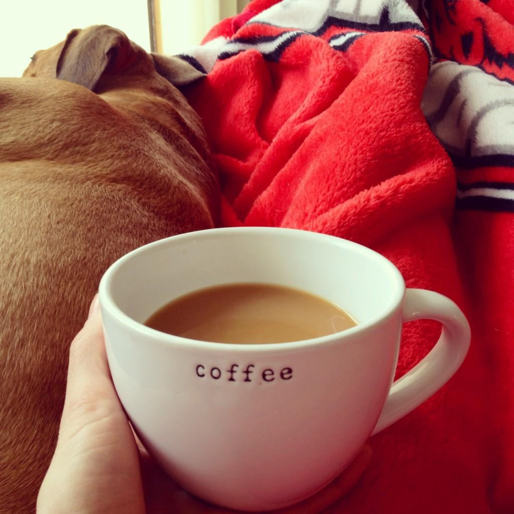 coffee and snuggle break