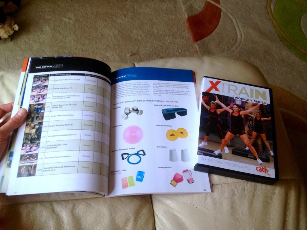 cathe Xtrain workout equipment