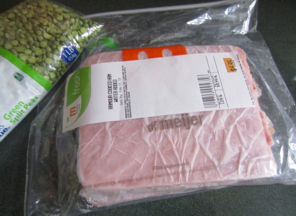 cooked ham from deli