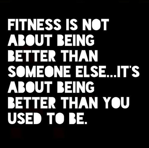 Be better than you used to be