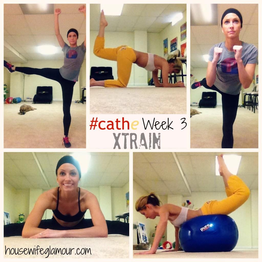 Cathe XTrain Week 3 cover