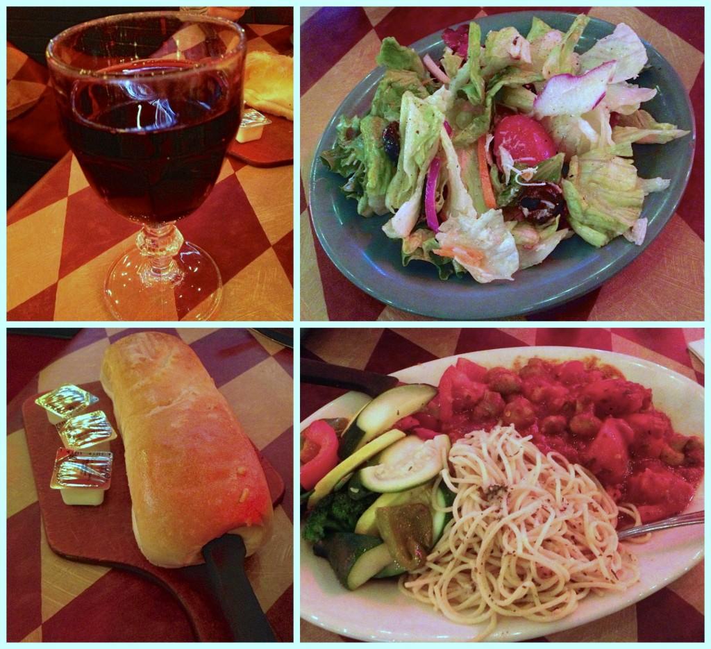 Italian Dinner Date food