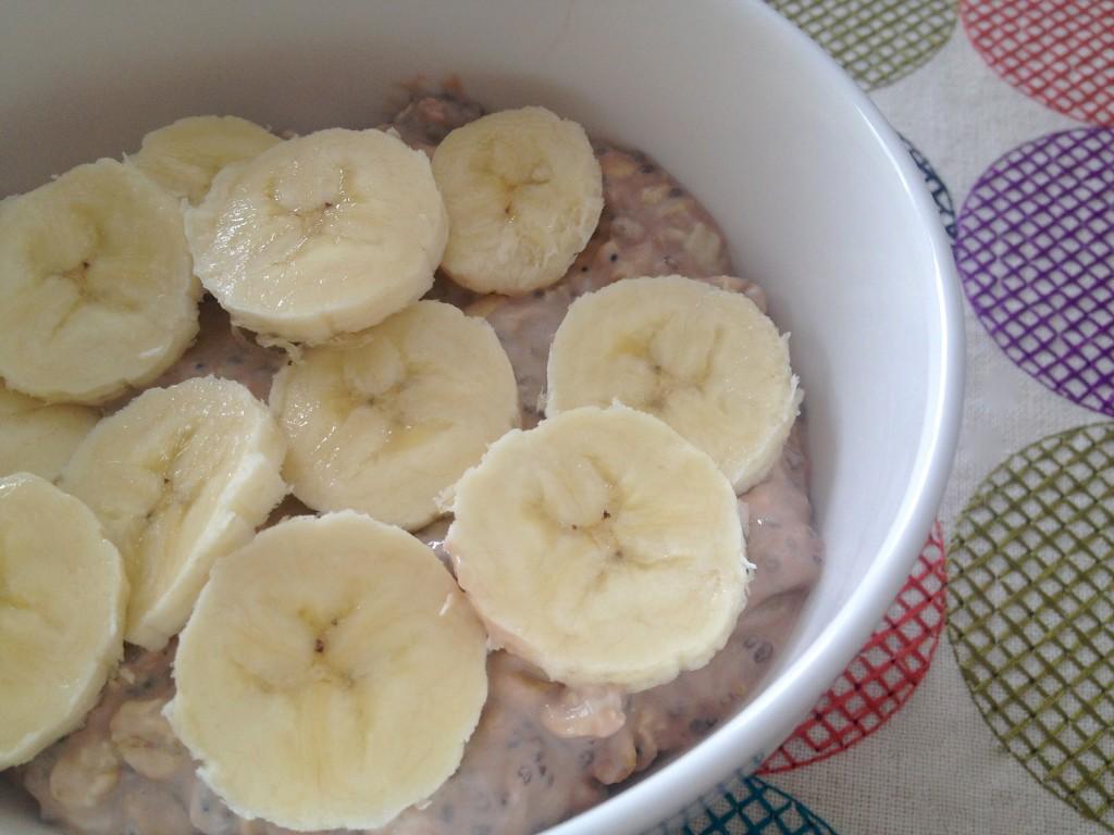 chocolate banana overnight oa