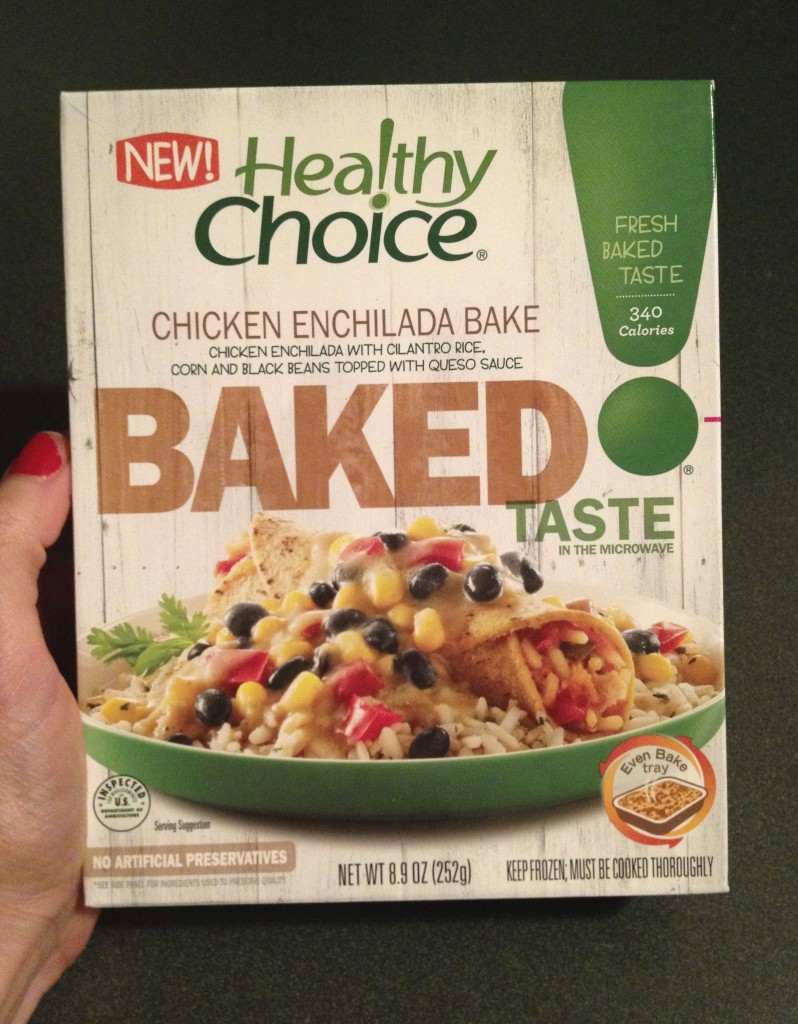 healthy choice baked chicken enchilada