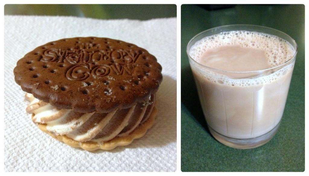 healthy dessert collage