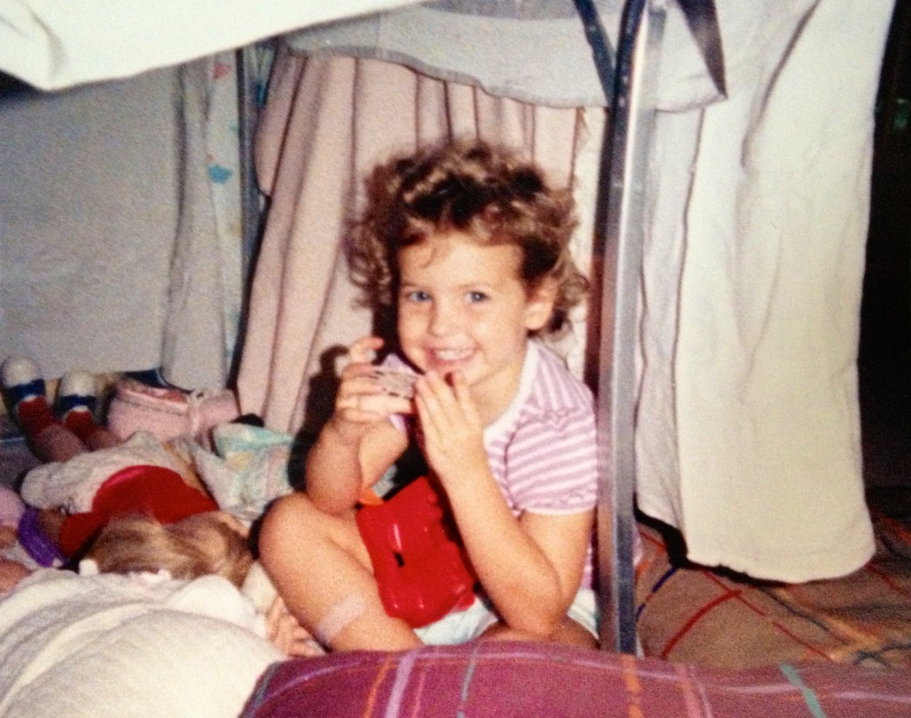 toddler heather in fort