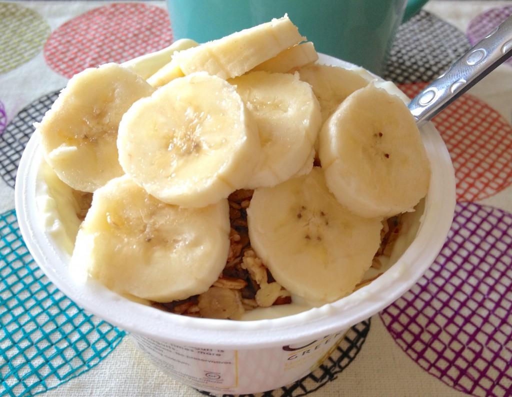 Chobani yogurt parfait