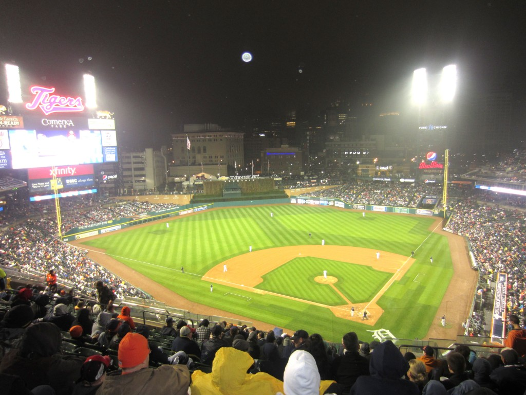 Detroit Tigers Game 14
