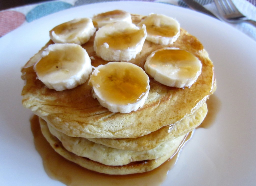 Easter morning pancakes