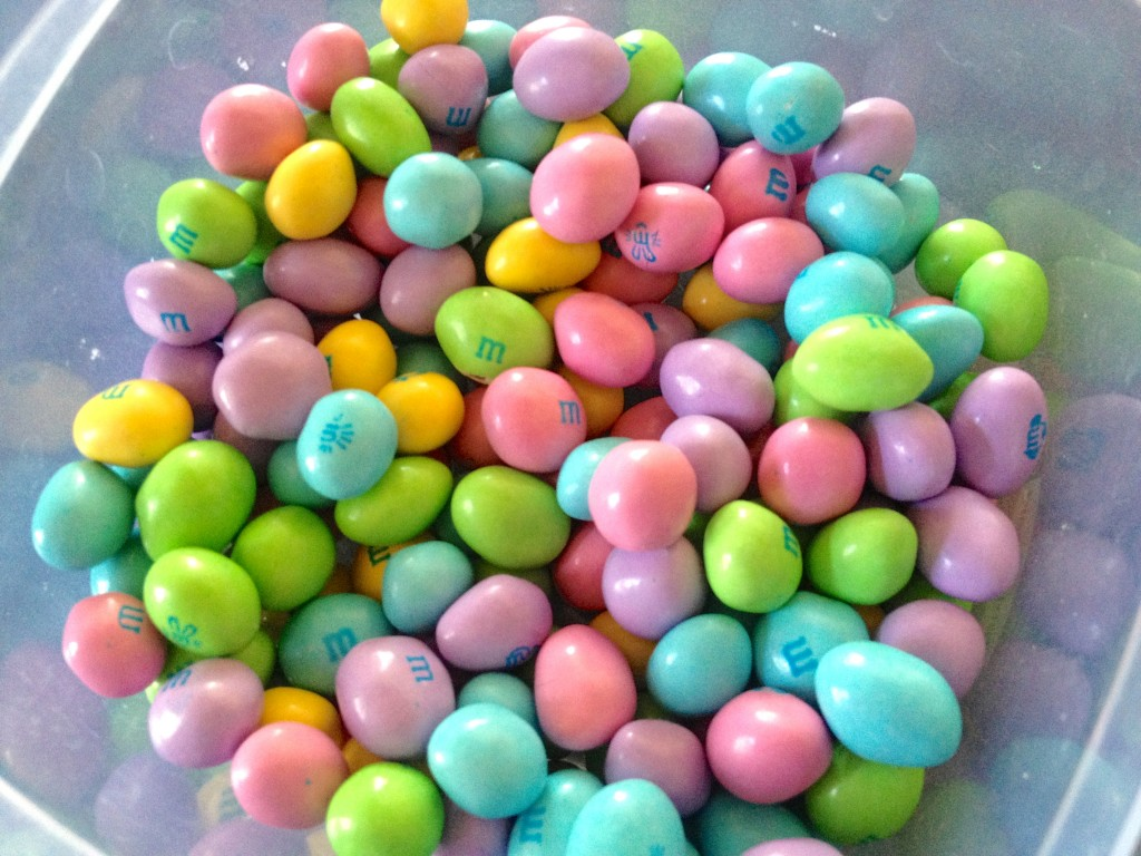Easter peanut M&M's