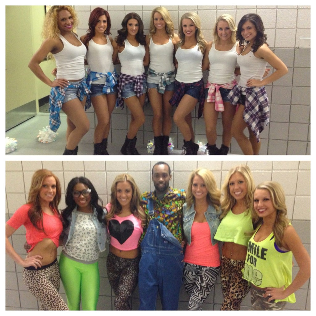 Pistons 90s themed night