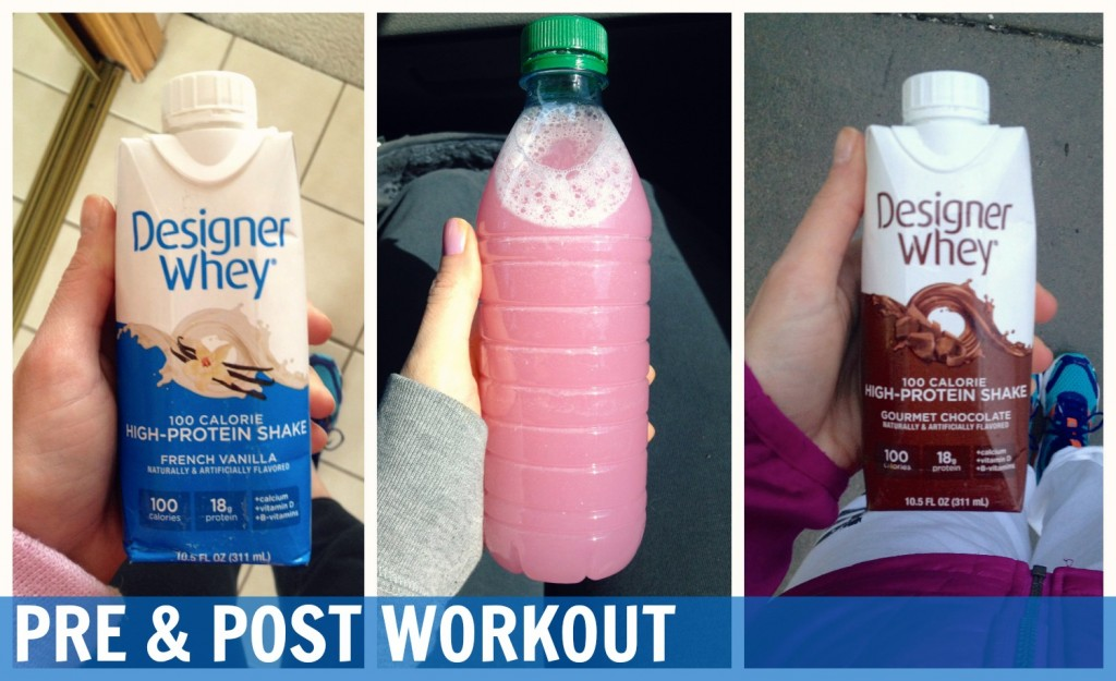 Pre and Post Workout Designer Whey