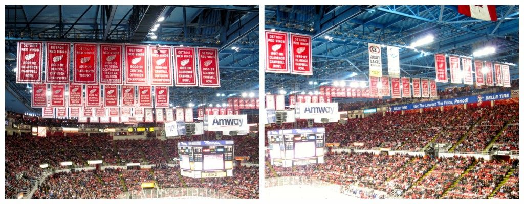 Red Wings Flags