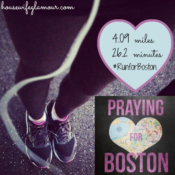 Running and Praying for Bos