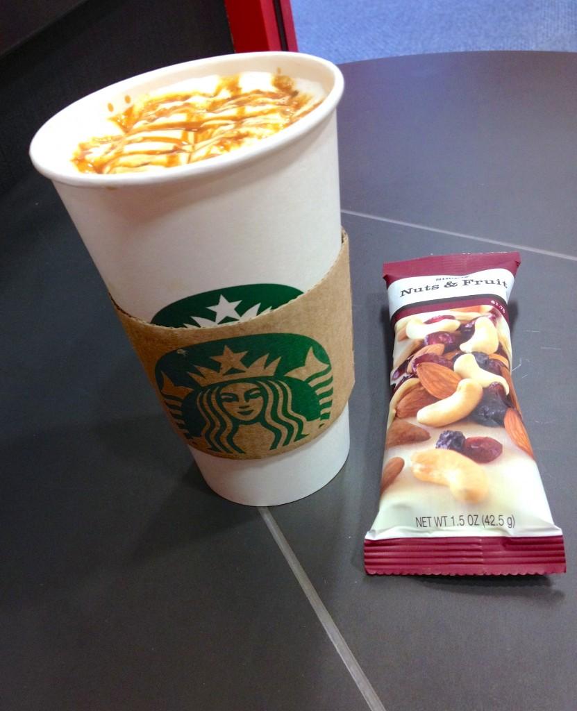 Starbucks skinny halzenut ma
