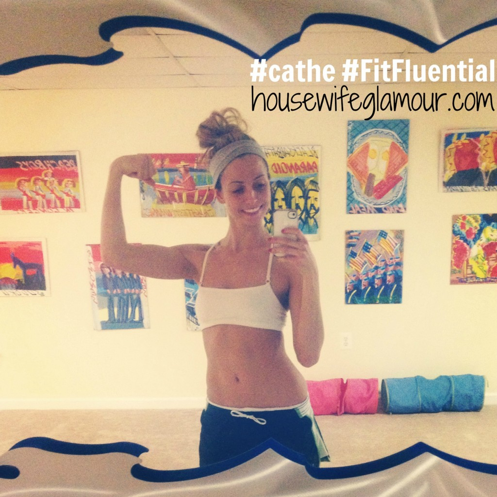 cathe workout progress