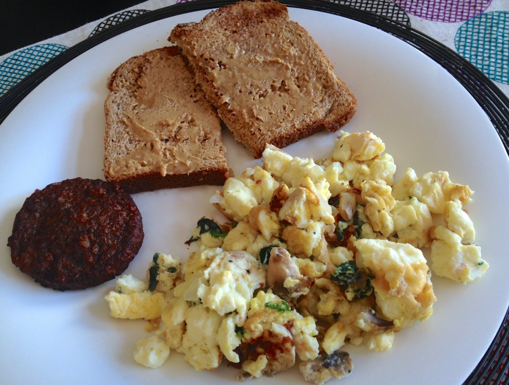 eggbeater scramble veggie sa