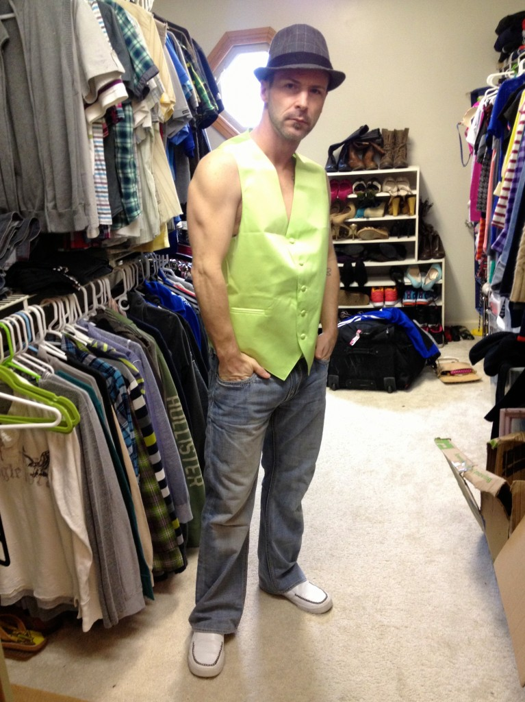 what scott wanted to wear to