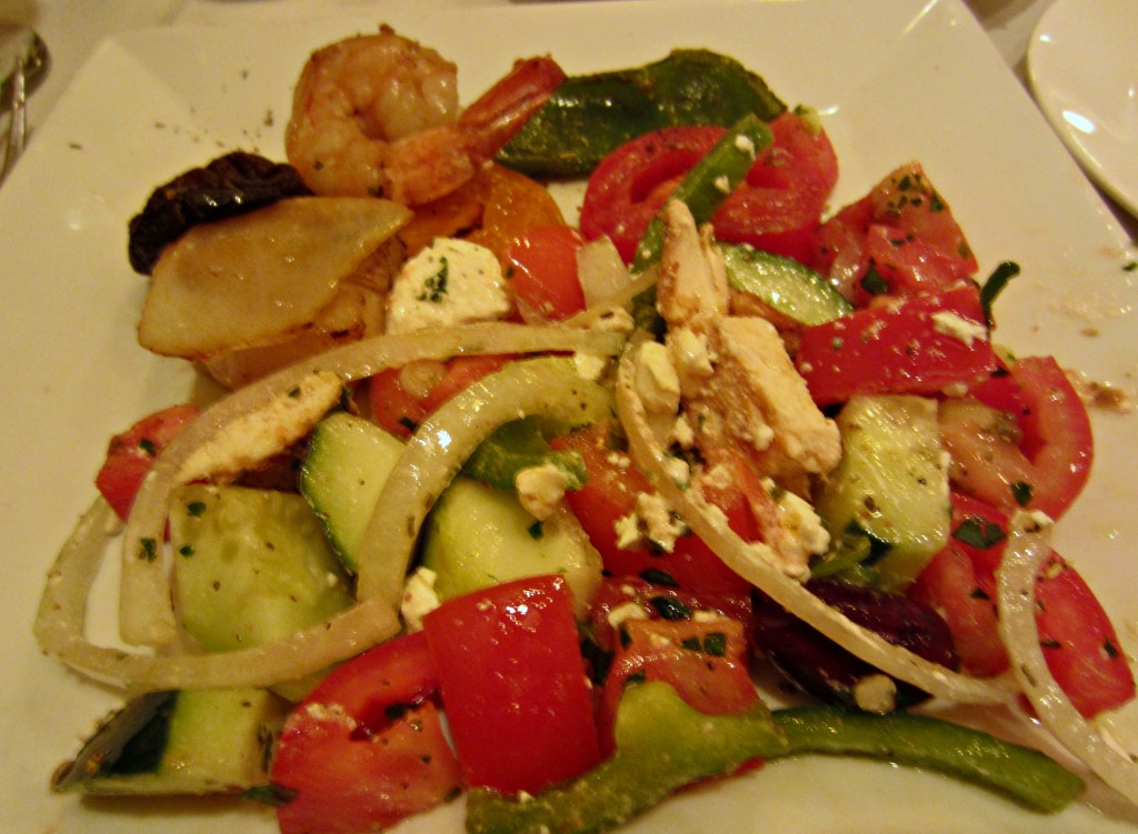 Greek Flame Salad