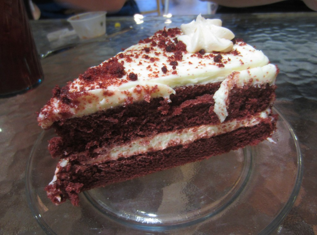 Infusion Tea Red Velvet Cake