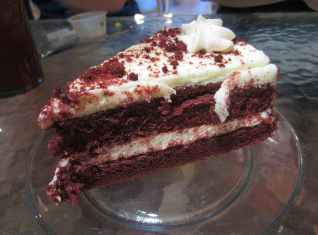 Infusion Tea Red Velvet Cake