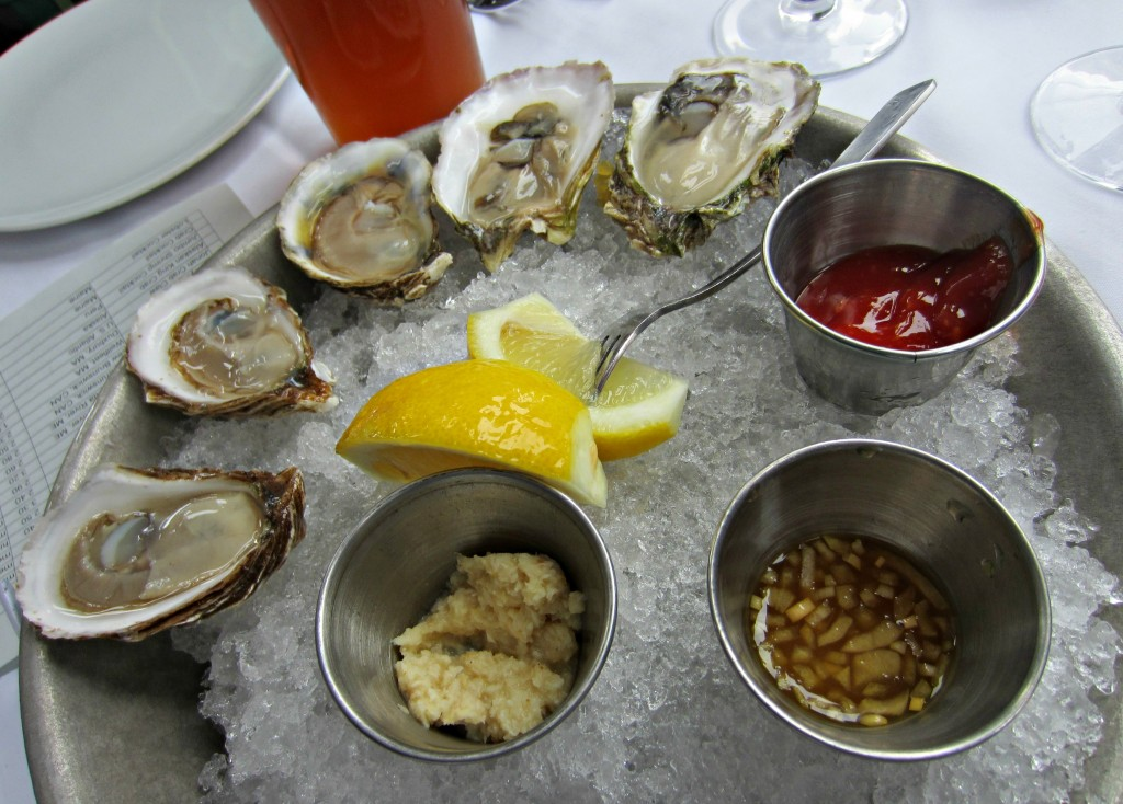 Mare Oyster House fresh oysters