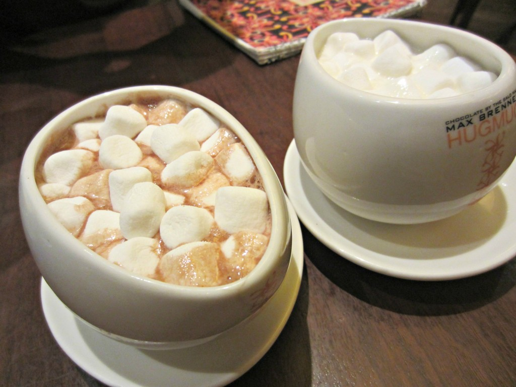 Max Brenner hot chocolate hug mugs