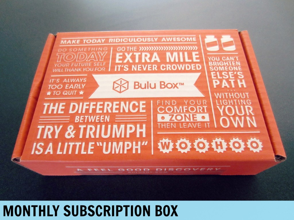 Monthly Subscription Bulu Box
