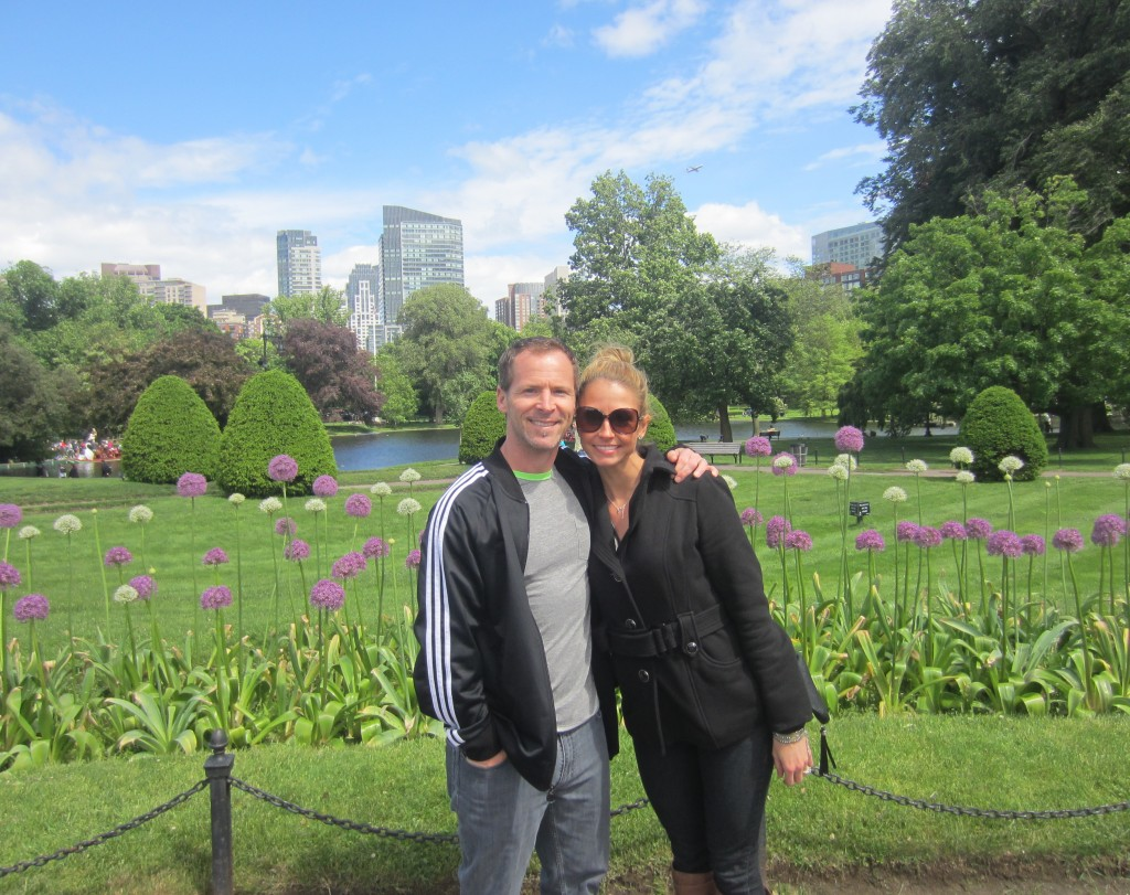 Public Garden with Scott