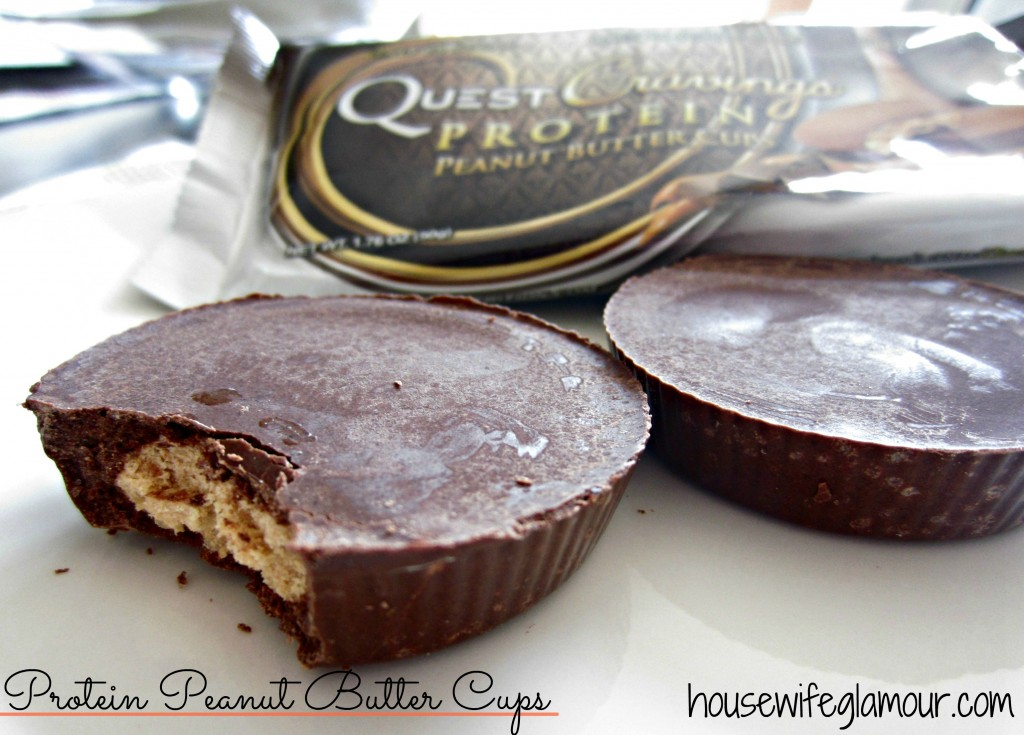 Quest Cravings Protein Peanut Butter Cups Labeled