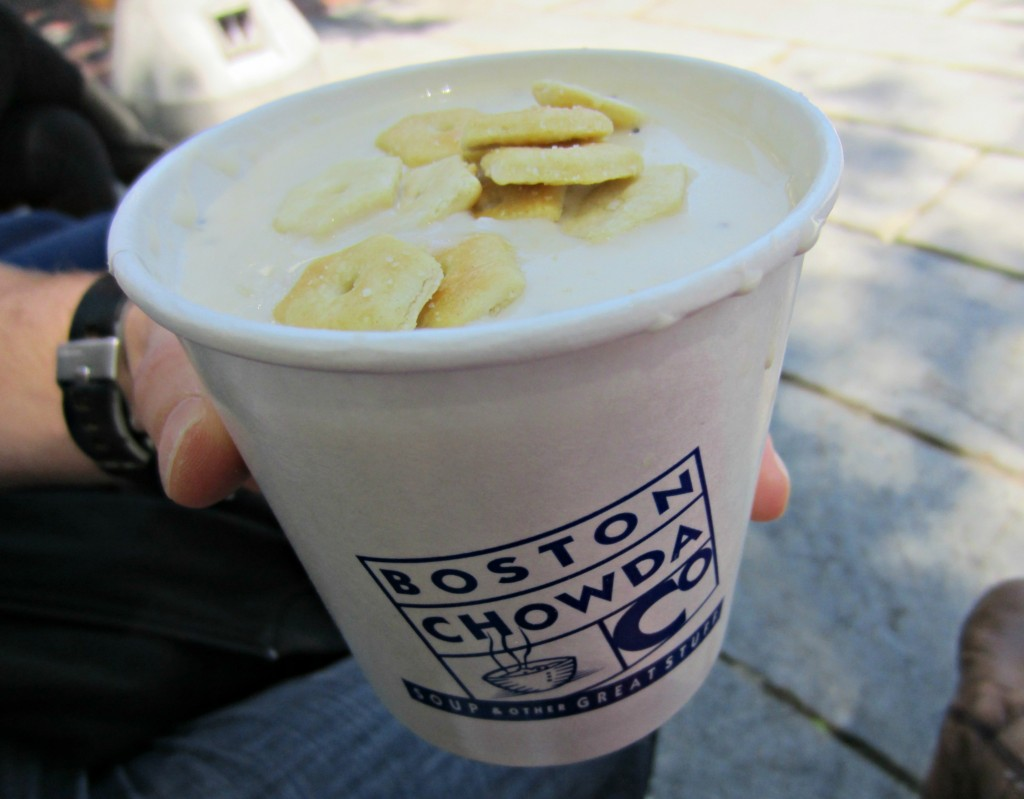Quincy Market Best Clam Chowder Boston Chowda Co