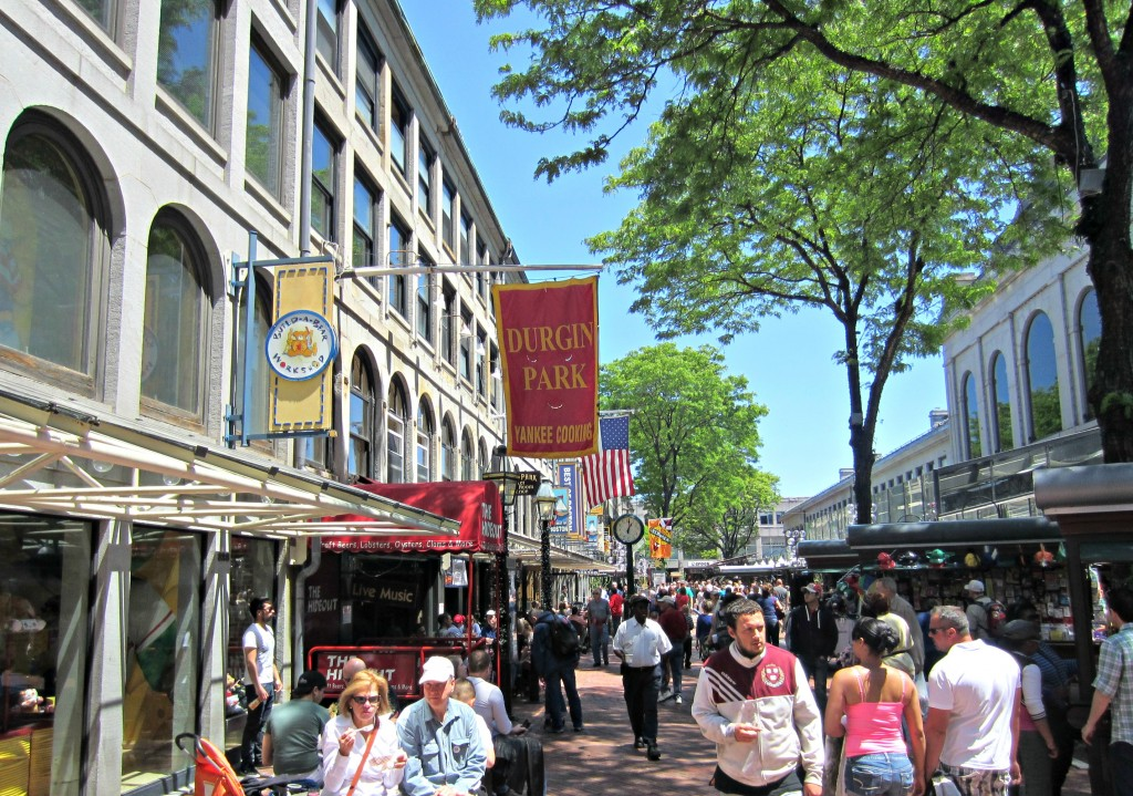 Quincy Market outside Boston