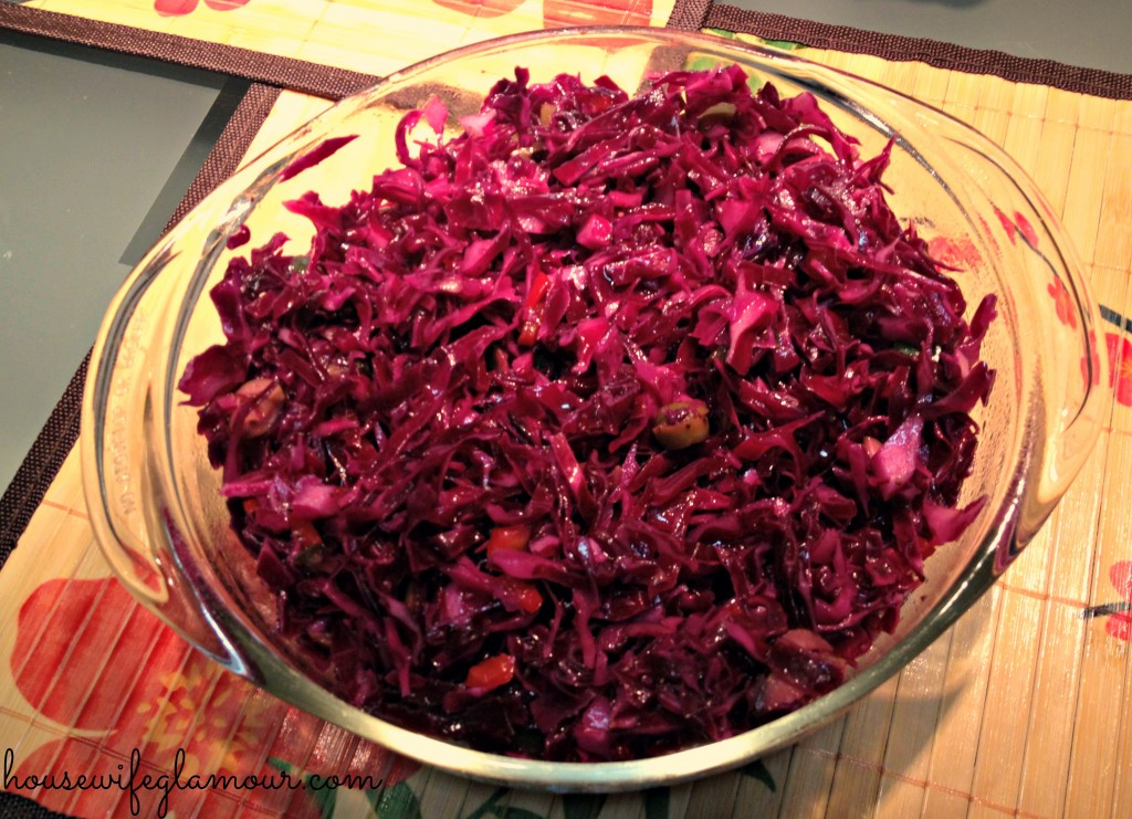 Red Purple Cabbage Colesla