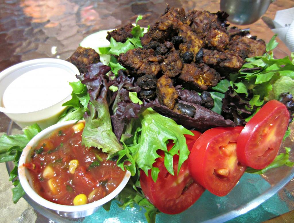 Tempeh Taco Salad Infusion