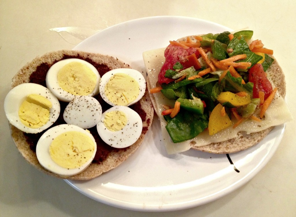 Vegetable and Egg Sandwich Thin