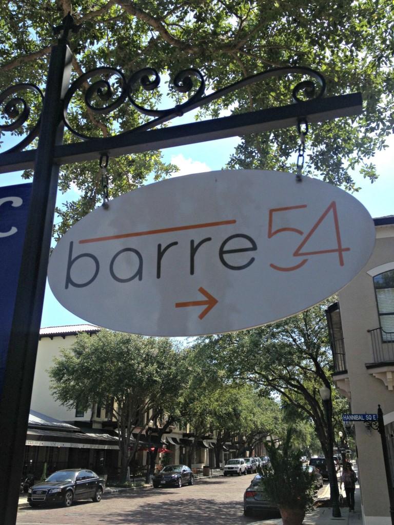 barre 54 sign winter park