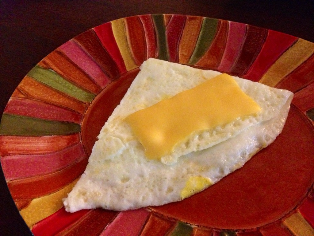 Egg White with cheese