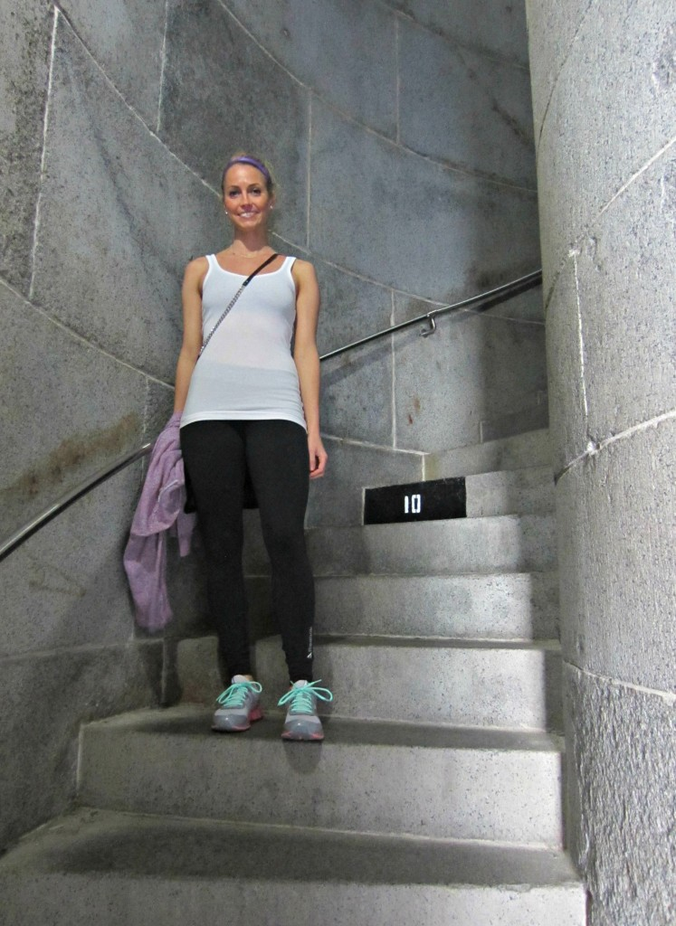 Climbing Bunker Hill Monument