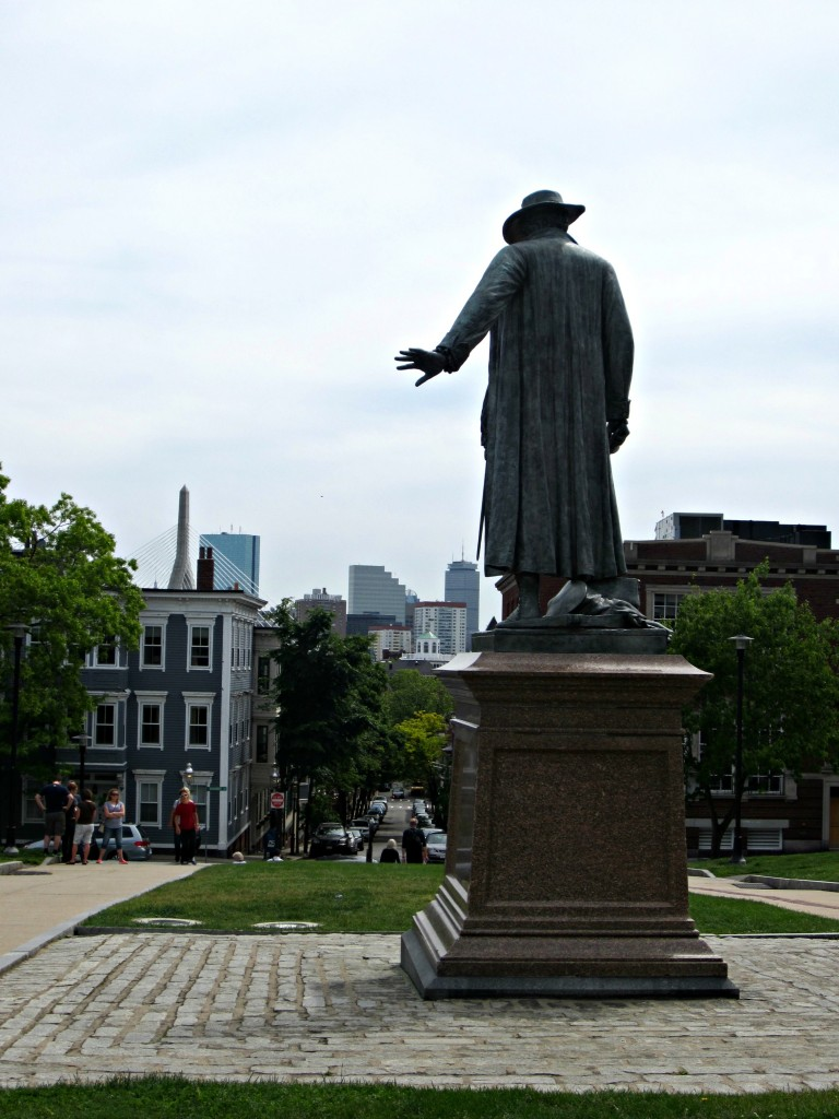 Col. William Prescott Bunker Hill Monument