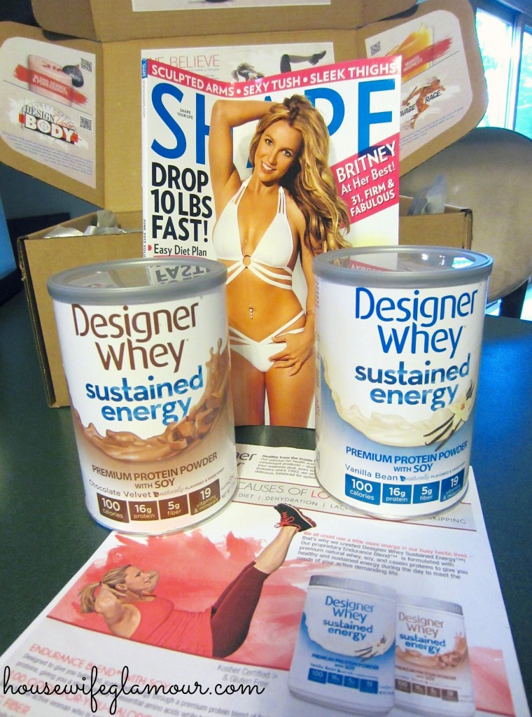 Designer Whey Sustained Energy Package