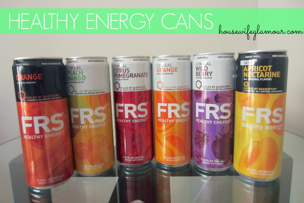 FRS Healthy Energy Cans