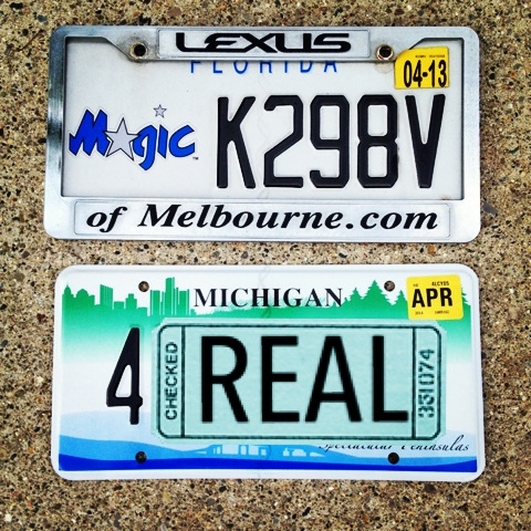 g license plates after moving