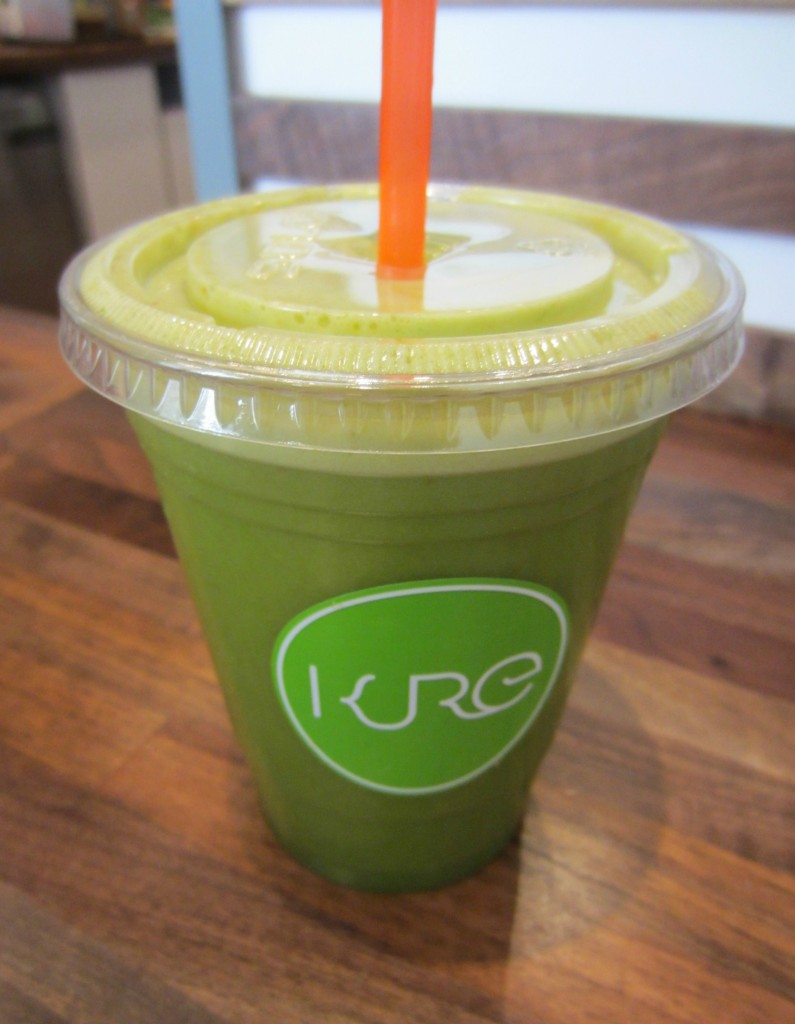 Kure Juice Bar fresh juice